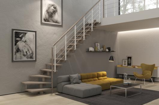escaleras de interiores de tramos