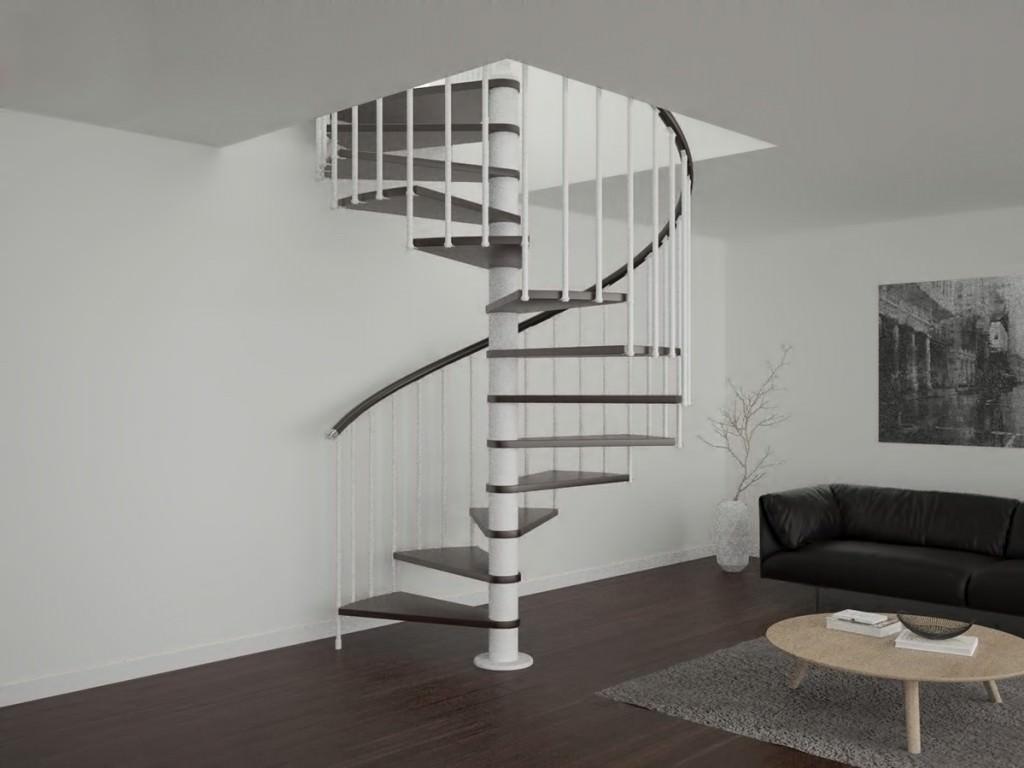 Escalera de caracol para interiores escaleras de caracol for Escaleras rintal