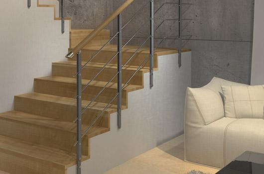 minimal - Barandillas Escaleras Interiores