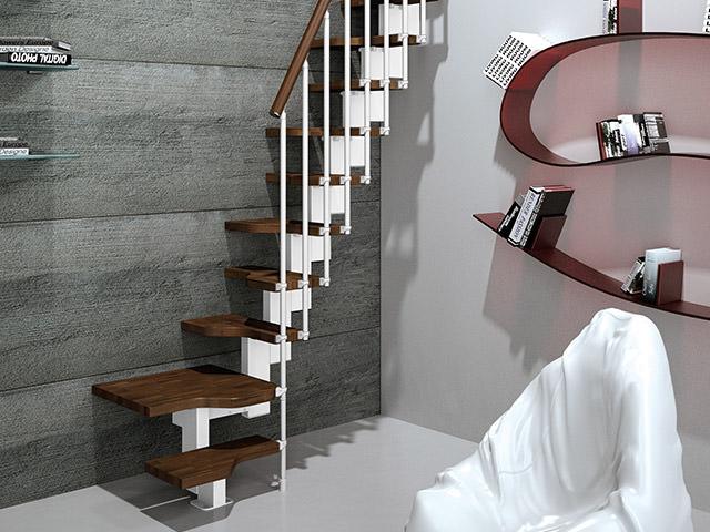 Escalera con pelda os rintal mini plus for Escaleras rintal
