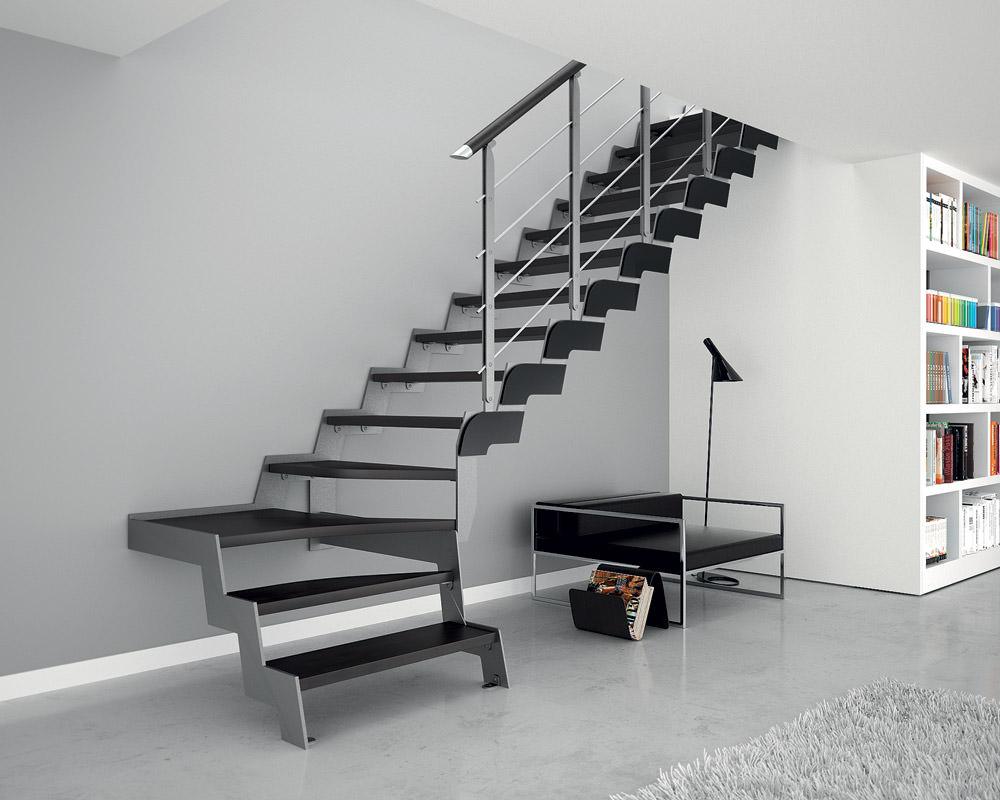 Escalera de hierro rintal loft - Design per interni ...