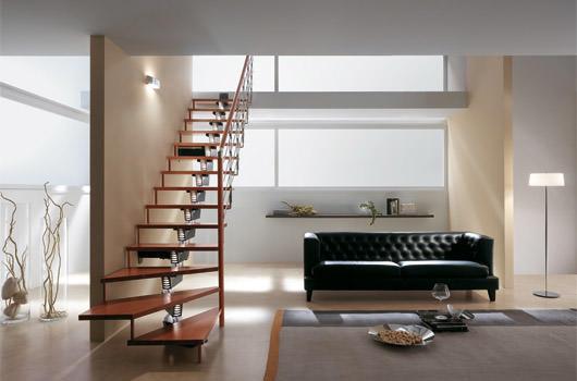 escaleras de tramos modulares