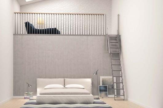 Escaleras retractiles rintal for Escaleras retractiles