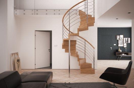 Escaleras helicoidales rintal escaleras - Escalera caracol prefabricada ...