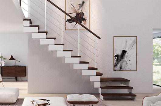 Escaleras de tramos escaleras recta rintal - Configuratore scale interne ...